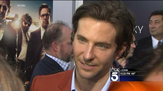 The Stars of `Hangover 3` Walk the Red Carpet in Hollywood