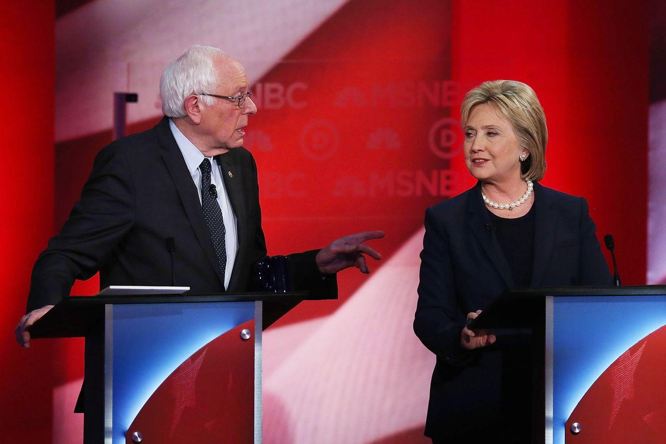 Watch: Hillary Clinton and Bernie Sanders have a rare, real debate over the death penalty