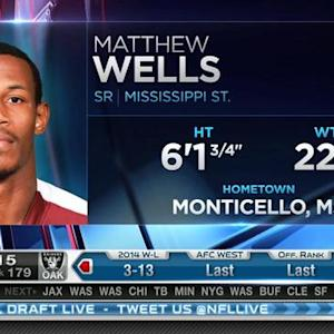 New England Patriots pick linebacker Matthew Wells No. 178 in 2015 NFL Draft