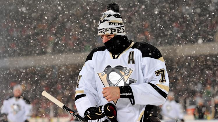 NHL: Stadium Series-Pittsburgh Penguins at Chicago Blackhawks