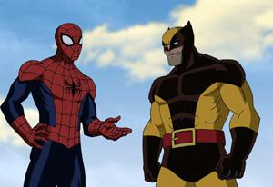 Wolverine and Ultimate Spider-Man | Photo Credits: Marvel Studios