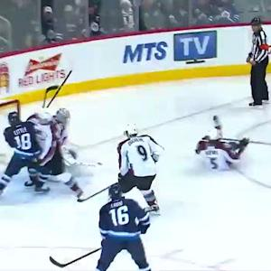 Blake Wheeler scores 24 seconds into the game