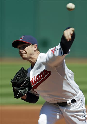 Indians rout Athletics 9-2