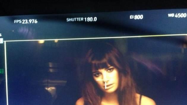 Lea Michele debuts the first look at her music video pm November 17, 2013  -- Twitter