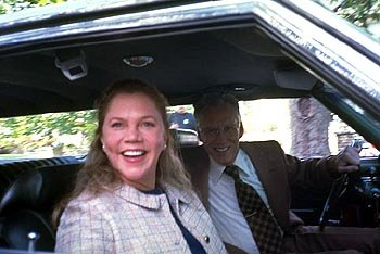 Kathleen Turner and James Woods as Mr. and Mrs. Lisbon in Paramount Classics' The Virgin Suicides