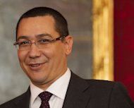 Romanias Prime Minister Victor Ponta, pictured on June 18, said he was ready to revisit changes he&#39;d made to the country&#39;s cultural body, after the overhaul led to widespread protests from the arts world