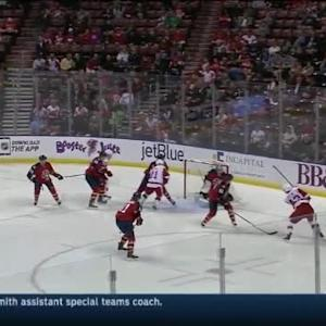 Al Montoya Save on Darren Helm (01:09/3rd)