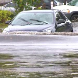 Miami streets flooded amid downpour