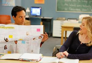 Danny Pudi, Gillian Jacobs | Photo Credits: Vivian Zink/NBC