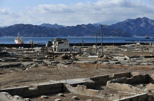 <p>The tsunami-hit area in Otsuchi, Iwate prefecture nearly one year after the town was devastated by the March 11 tsunami. Cash earmarked for tsunami reconstruction work was diverted to unrelated projects, a Japanese government audit showed as residents of the devastated northeast voiced frustration over the slow pace of rebuilding.</p>
