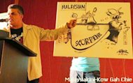 Zunar rejects cartoonist award from Najib