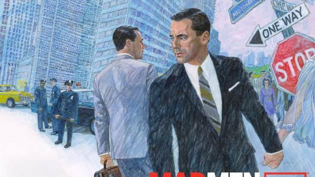 The poster art for 'Mad Men' Season 6 -- AMC