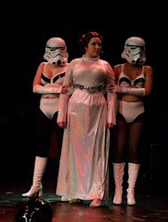 Princess Leia is captured...