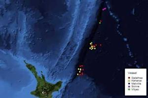 Previous research in the Kermadec Trench