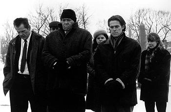 Nick Nolte , Academy Award winner James Coburn , Willem Dafoe and Sissy Spacek in Affliction