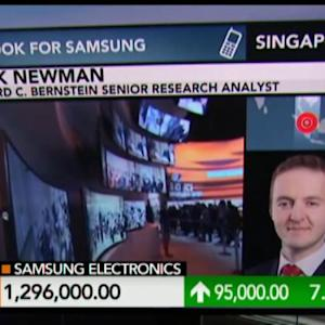 Samsung Is in a Transition: Newman