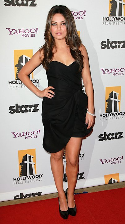 2010 Hollywood Awards Mila Kunis