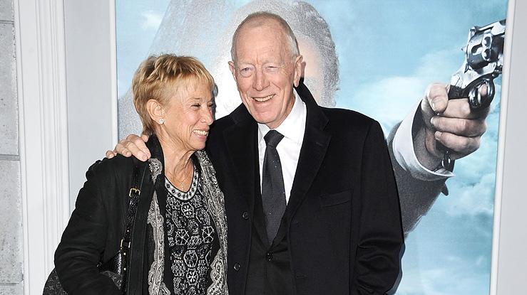 Sherlock Holmes A Game of Shadows 2011 LA Premiere Max von Sydow