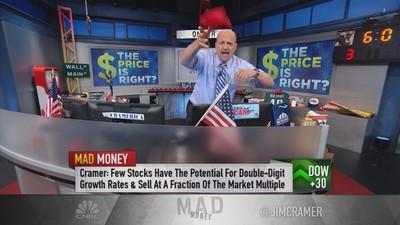 Cramer's verdict: Are stocks insanely overvalued?