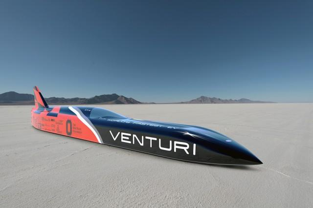 3000-HP Venturi Electric Car At Bonneville: Land Speed Record In One Class, Prior Title Still Stands (UPDATED)