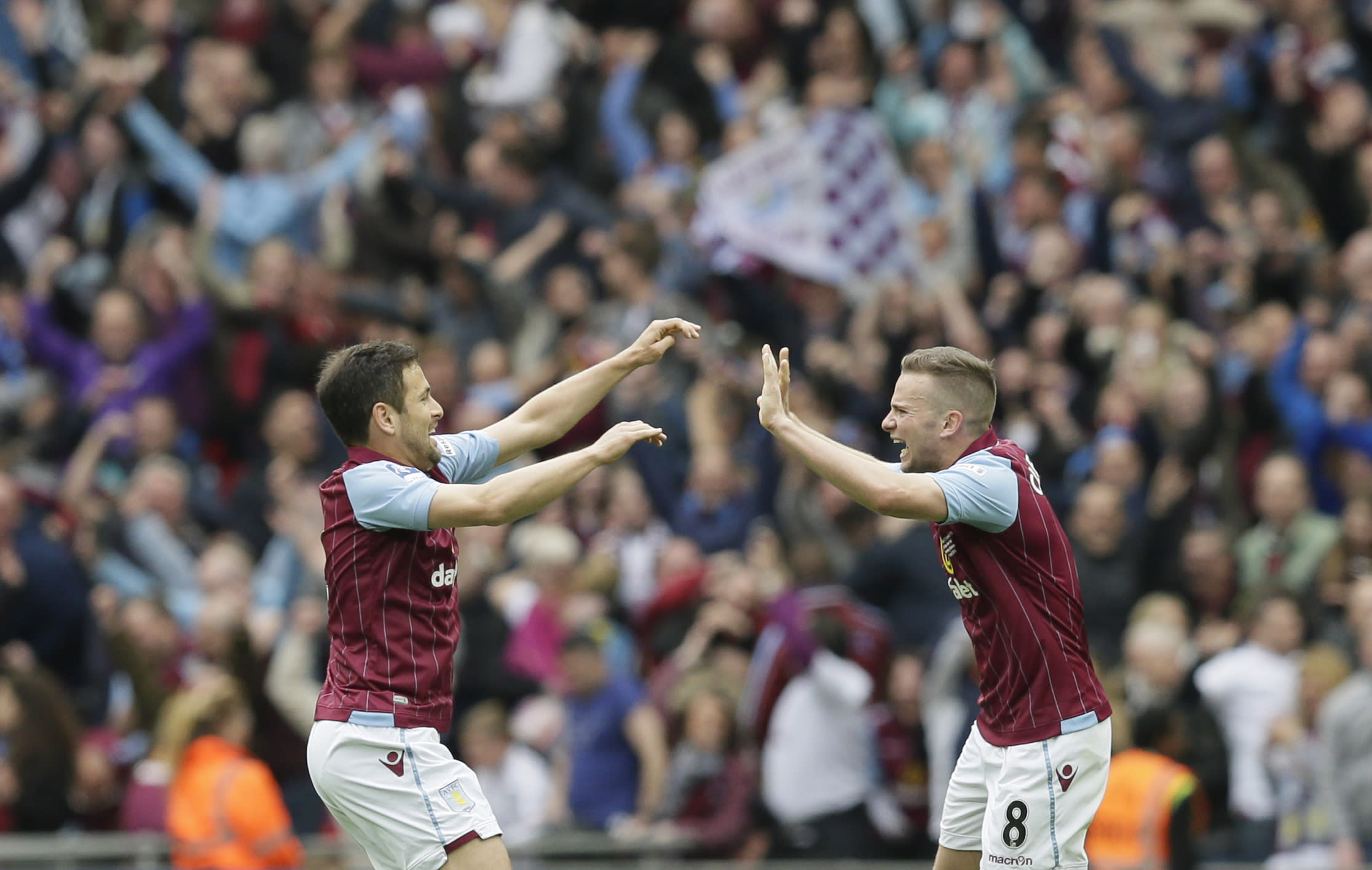 Villa beats Liverpool to secure FA Cup final against Arsenal