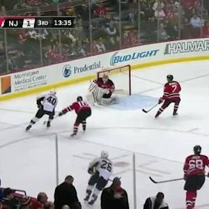 Cory Schneider Save on Maxim Lapierre (06:27/3rd)