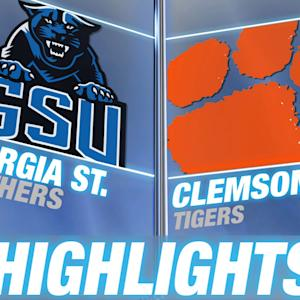 Georgia State vs Clemson | 2014 ACC Football Highlights