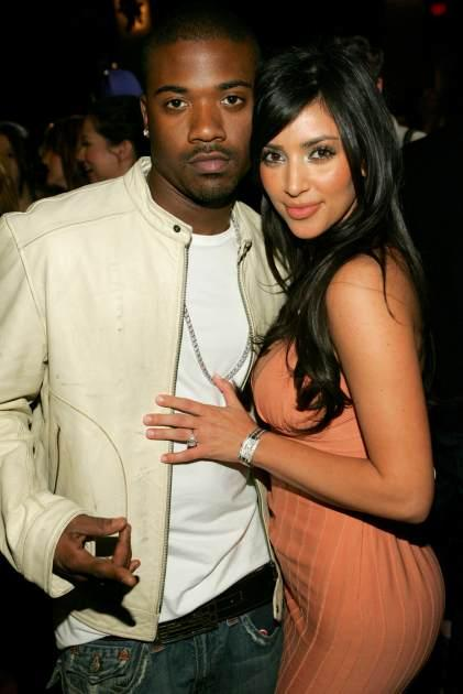 Ray J and Kim Kardashian seen in March 2006  -- Getty Premium