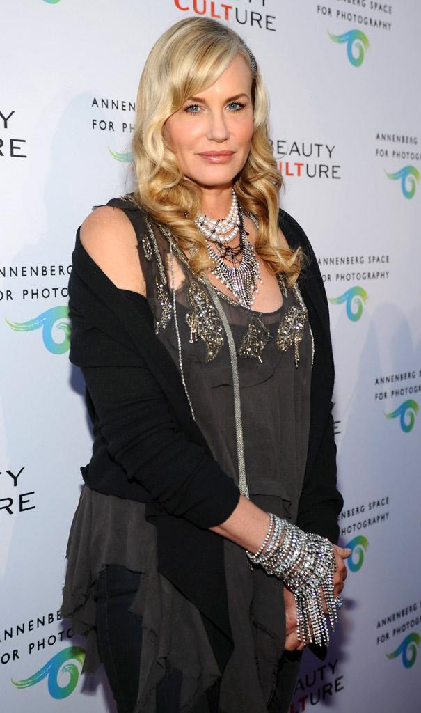 Daryl Hannah Opening Of Beauty Culture At Annenberg Space