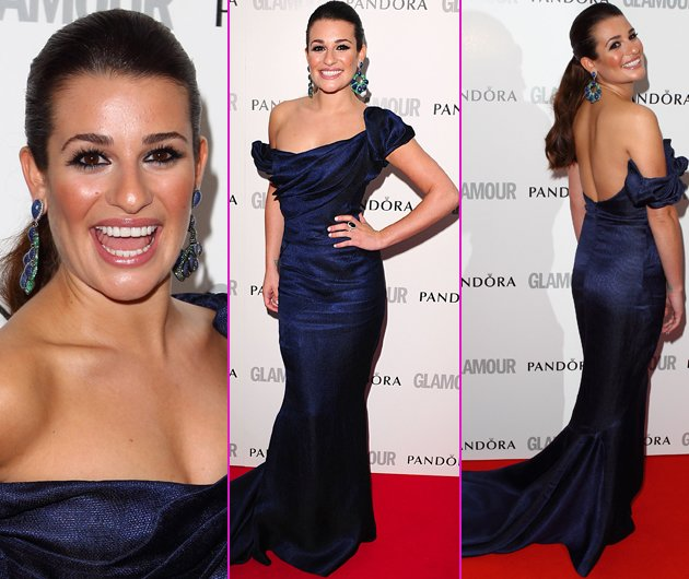 lea michele glamour awards