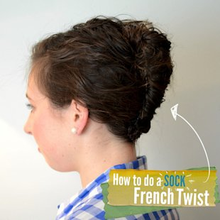 Sock French Twist