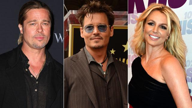 Pitt, Depp and Spears Absent from 'Forbes' List