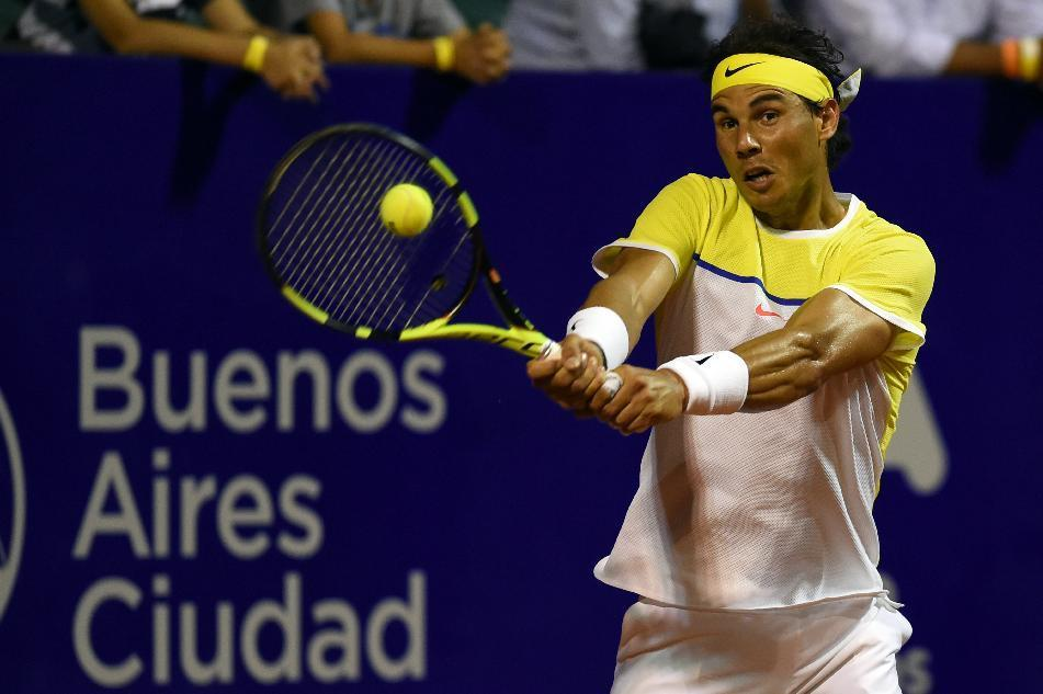 Nadal returns with a win in Buenos Aires