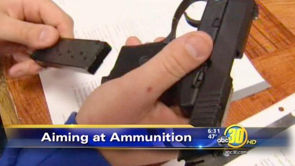 California lawmaker introduces gun ammunition-control bill