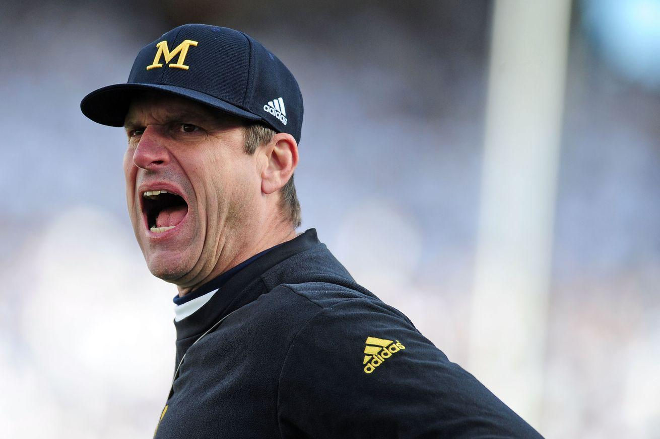 Jim Harbaugh, king of the sideline tantrum, calls out SEC for whining