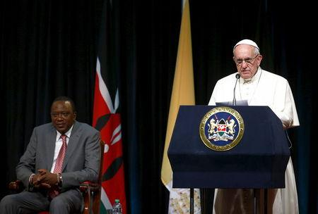 Pope in Africa hopes to bridge Christian-Muslim faultlines