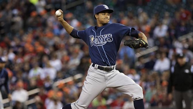 Archer, Rays add to wild-card lead, beat Twins