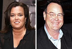 Rosie O'Donnell, Dan Aykroyd | Photo Credits: Neilson Barnard/Getty Images; Johnny Nunez/WireImage