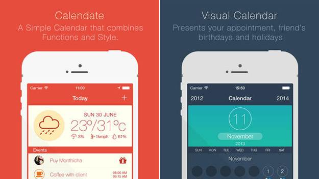 Download this app right now: Gorgeous calendar app Calendate for iPhone is now free