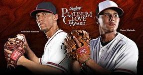 Machado and Simmons win Rawlings Platinum Glove Awards™