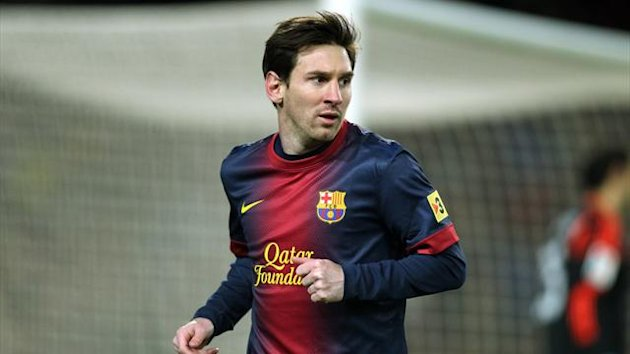 FOOTBALL Barcelona Lionel Messi