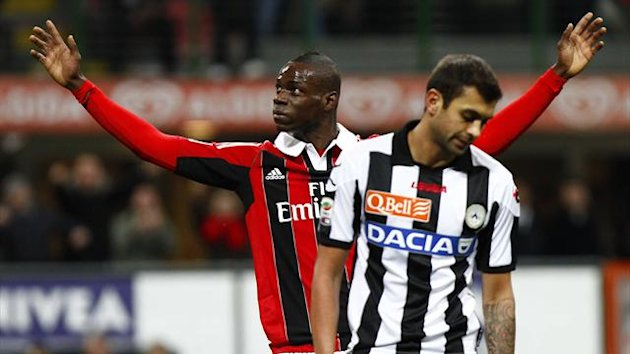 2012-2013 Serie A Milan-Udinese Balotelli