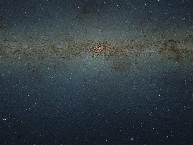 The nine gigapixel image captures 84 million stars - and could unlock the secrets of the heart of our galaxy (Image: ESO)