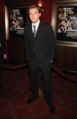 Leonardo DiCaprio at the New York premiere of Warner Bros. Pictures' The Departed