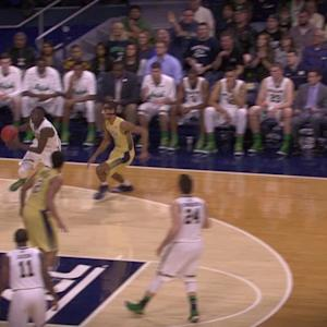 Notre Dame's Jerian Grant Breaks Down the Dunk of the Year
