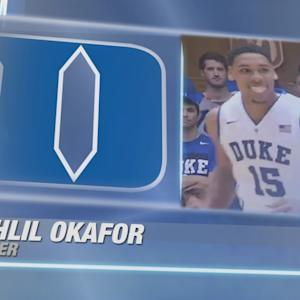 Jahlil Okafor's Career High 25 Point, 20 Rebound Game vs Elon