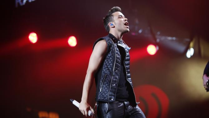 Recording artist Prince Royce performs during the first-ever iHeartRadio Fiesta Latina at The Forum in Inglewood, California