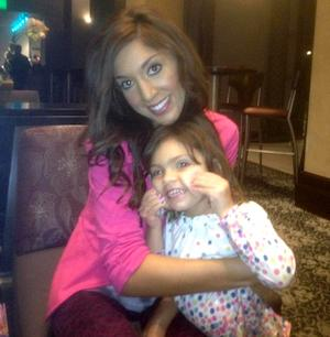 Teen Mom Star Farrah Abraham Waxes 3-Year-Old Daughter Sophia's Unibrow