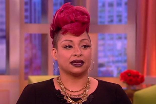 'The View's' Raven-Symone Says She'd Discriminate Against 'Ghetto' Names