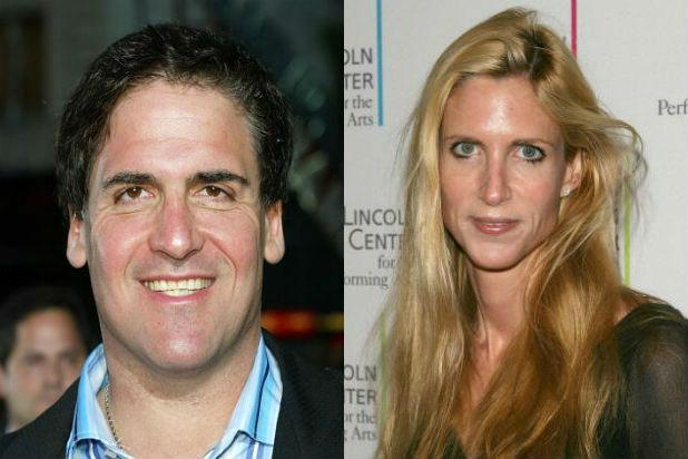Mark Cuban, Ann Coulter Join Cast of 'Sharknado 3′ as President and Vice President